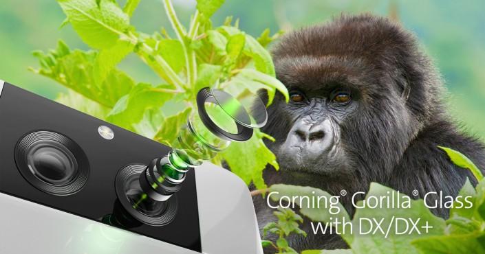 Новото Gorilla Glass стъкло с DX и DX+ пропуска повече светлина и предпазва камерите от драскотини